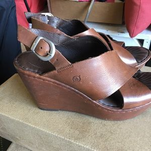 Brown wedges from Born